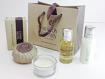 Molton marrón hairwash Acondicionador de pelo y jabón Set de regalo