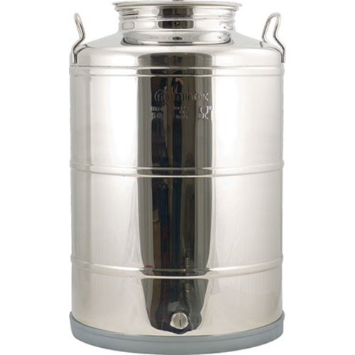Eagle WE730 Stainless Fusti Tank, 14 gal, Silver ()