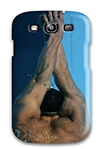 Fashion Tpu Case For Galaxy S3- Michael Phelps Poster Defender Case Cover