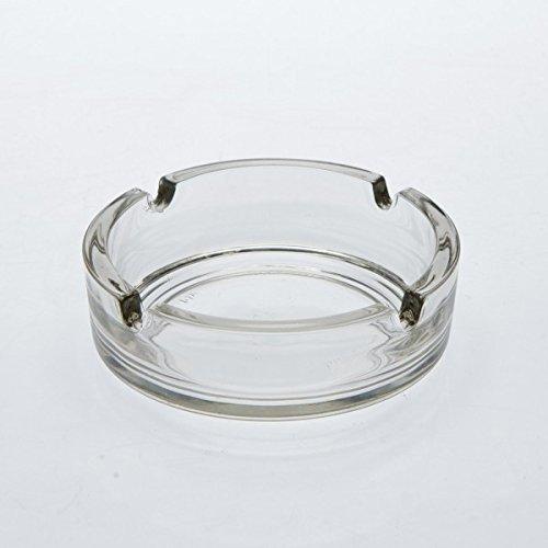 Glasascher klar Ø 11 cm 4 Ablagen