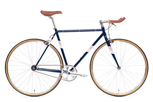 State Bicycle Rutherford 3 - Fixed Gear/Single Speed Bike, 59cm - Bullhorn