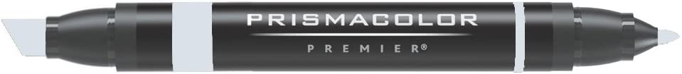 Prismacolor Double-Ended Marker, Broad and Fine Tip, PM110 Cool Gray 30% (3522)