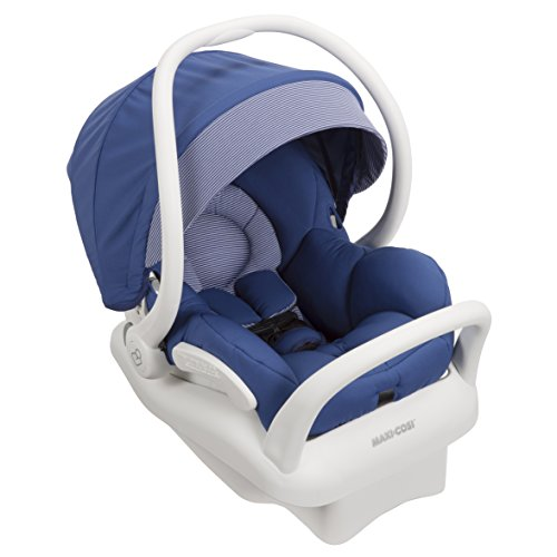 Maxi-Cosi Mico Max 30 Infant Car Seat, White Collection, Blue Base (Discontinued by Manufacturer)
