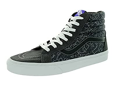 Vans Unisex Sk8-Hi Reissue (Liberty) Tonal Paisley/Grey Skate Shoe 10.5 Men US / 12 Women US