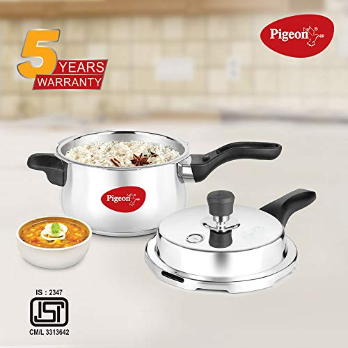 Pigeon-by-Stovekraft-Stainless-Steel-Pressure-Cooker-3-Litre-Outer-Lid-with-Induction-base-silver-medium-14501