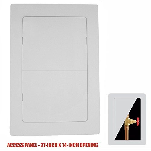 (Plastic Easy-Snap Wall or Ceiling Access Panel for 27