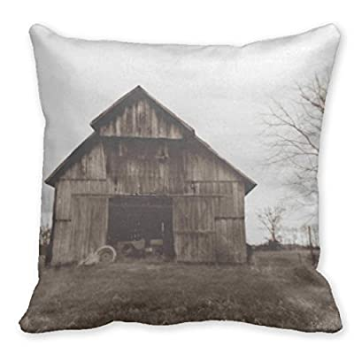"HeroHere Decorative Pillow Covers Farm Barn 20"" Pillow Case Covers"