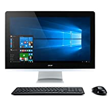 """Acer Aspire 23.8"""" FHD Touch AIO Desktop (Core i5-6400T, 8GB DDR4, 1TB HDD) with Windows 10 Home"""