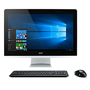 "Acer Aspire AIO Desktop, 23.8"" Full HD Touch, Intel Core i7-7700T, 16GB DDR4, 2TB HDD, Windows 10 Home, AZ3-715-UR12"