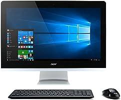 """Acer Aspire AZ3-715-UR11 2.4GHz i5-7400T 23.8"""" 1920 x 1080Pixeles Pantalla táctil Negro, Plata All-in-One PC - Ordenador de sobremesa All in One (60.5 cm (23.8""""), Full HD, Intel® CoreTM i5 de la séptima generación, 8 GB, 1000 GB, Windows 10 Home)"""
