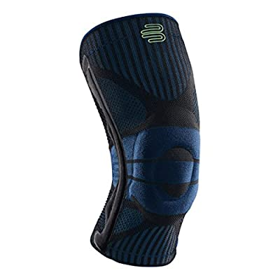 Bauerfeind Sports Knee Support - Breathable Compression Knee Brace Athletes - Medical Grade Compression - Lightweight, Moisture Wicking, Breathable Washable Knit Fabric