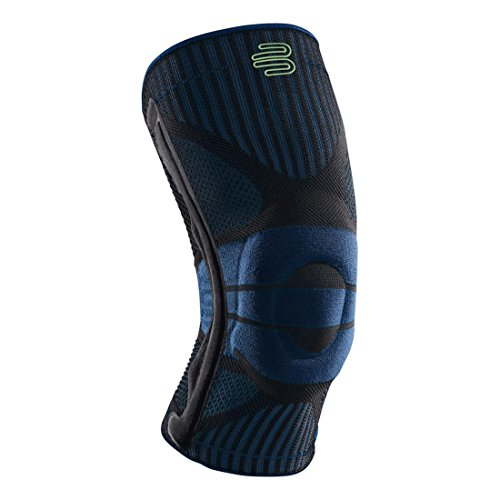 Bauerfeind Sports Knee Support – Breathable Compression Knee Brace for Athletes – Medical Grade Compression – Lightweight, Moisture Wicking, Breathable and Washable Knit Fabric – DiZiSports Store