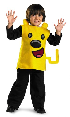 Wubbzy Classic Costume,Toddler: 2T