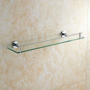 Modern Bathroom Bathroom Shelves Morden Style Wall Mounted Glass Shelfbathroom Accessory by QCTRSY Bathroom Faucet