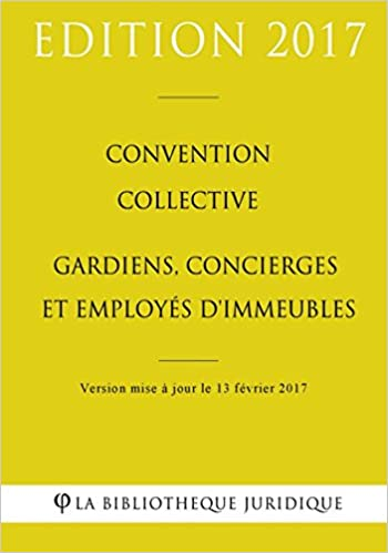 Amazon Fr Convention Collective Gardiens Concierges Et Employes D