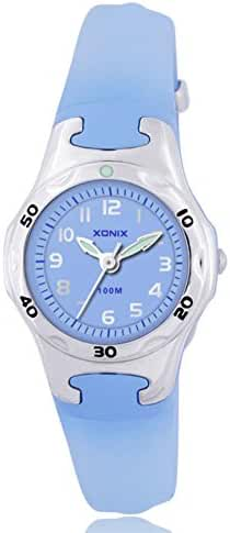 Simple fashion cartoon girls watch/Girls waterproof wrist watch quartz hands small-A