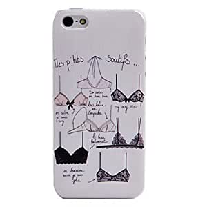 Generic Sexy Bra Pattern Back Case for iPhone 4/4s