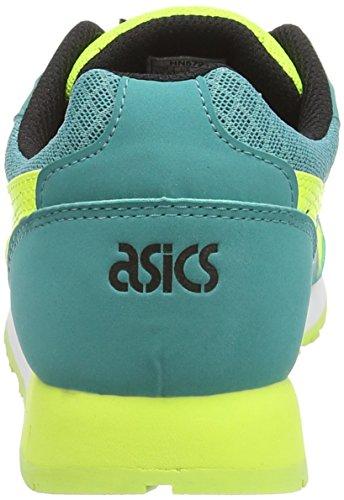 ASICS Curreo - Zapatillas bajas para mujer Azul (Latigo Bay/Safety Yellow 8907)