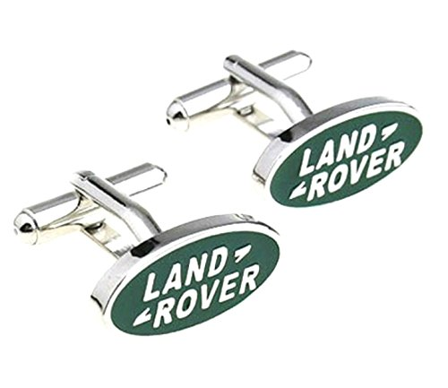 Land Rover Logo SUV Auto Car Cufflinks By Athena