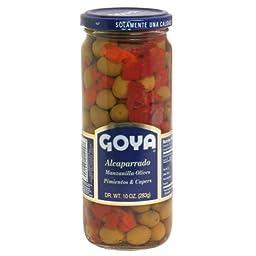 Goya Alcaparrado Manzanilla Olives, Pimentos, and Capers 10oz