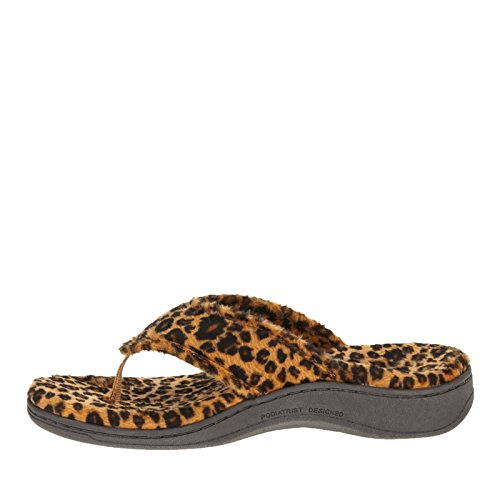 Orthotic Sandals Slipper Tan Bliss Leopard Vionic Women's vcBREHWF