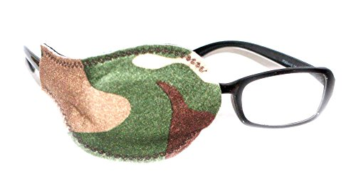 Kids and Adults Orthoptic Eye Patch For Amblyopia Lazy Eye Occlusion Therapy Treatment Design #4 Kitty on Black