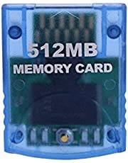 elegantstunning 512MB Memory Card for Nintend Wii Console Memory Storage Card for Gamecube GC