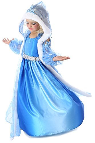 Princess Paradise Child Icelyn Winter Princess Costume, Multicolor, X-Small (4)