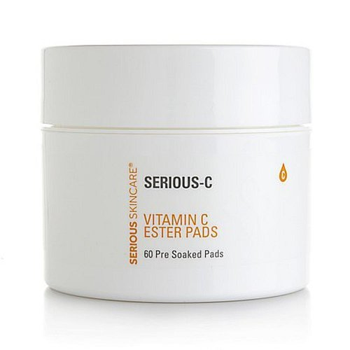 Skin Care Mall (Serious Skin Care 60-count Vitamin C Ester Pre-Soaked Pads )