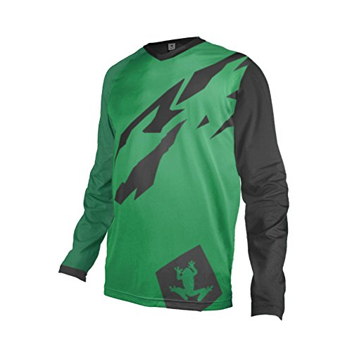 Uglyfrog 2018 Mens Rage MTB/Downhill Jersey Cycling/Motocross Mountain Bike Long Sleeve Shirt ()