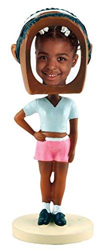 Neil Enterprises, Inc Hip Hop Girl Photo Bobble Head - Dark Skin Tone