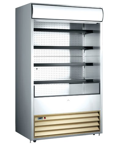 Beverage Air Refrigerated Display Case - OMCAN 41469 RS-CN-0700 Open Air 24.7cf 48