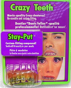 Rubie's Costume Co Braces Teeth&Putty Costume - Fake Braces For Teeth