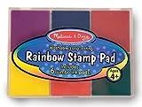 11 Pack MELISSA & DOUG RAINBOW STAMP PAD