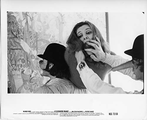 Clockwork Orange Original 8x10 Photograph Adrienne Corri Scene (A Clockwork Orange Best Scenes)