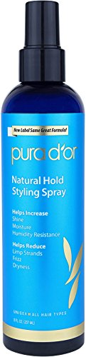 PURA D'OR Dor Natural Hold Styling Hair Spray for Volume, Sh