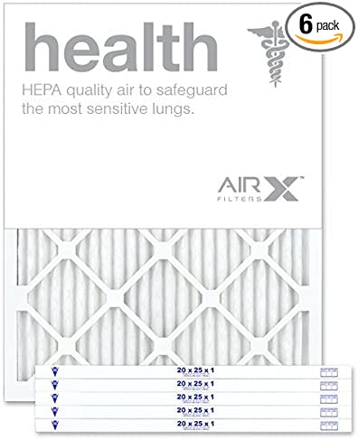 AIRx HEALTH 20x25x1 MERV 13 Pleated Air Filter