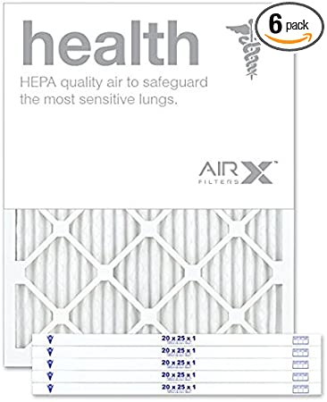 3 14x30x1 HVAC Superior Allergen Anti-Microbial Healthy Home Ring Panel Filter