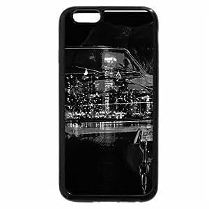 iPhone 6S Plus Case, iPhone 6 Plus Case (Black & White) - Chain the Power