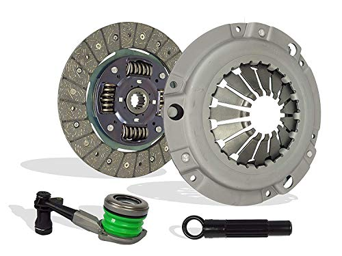 Clutch And Slave Kit works with Cavalier Sunfire 2002-2005 2.2L In. l4 GAS DOHC Naturally Aspirated (On 2002 Chevrolet Cavalier and Pontiac Sunfire, for VIN F, Disc size is 8 7/8 x 1 x 14)