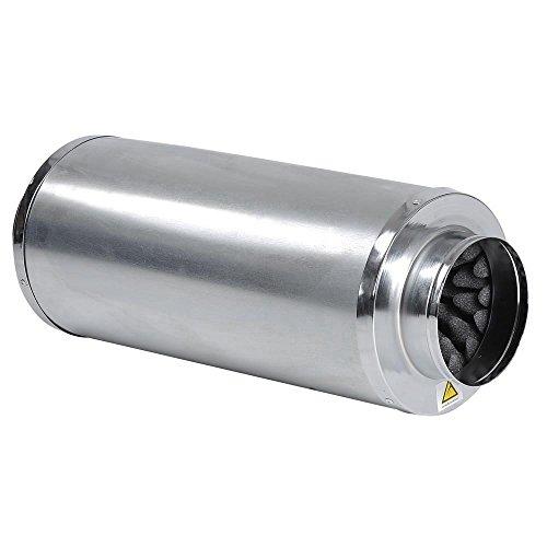 Hydroponic Inline Fan Duct Muffler- 6'' Silencer by Unitech (Image #2)