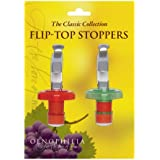 Flip-Top Wine Bottle Stoppers - Pack of 2