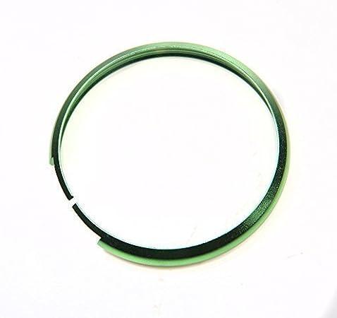 RSFOW Smart en Alliage daluminium Porte-cl/és Bague Rim Trim Housse de Remplacement Compatible avec Mini Cooper JCW de Voiture FOB