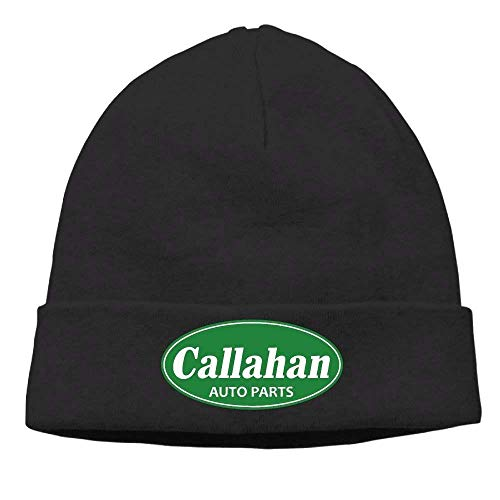 Jimmy P Callahan Auto Parts Soft Knit Beanie Hat Warm Thick Winter Hat for Men Callahan Auto Parts Winter Warm (Jimmy Auto Parts)