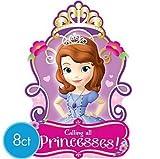 Sofia Princess Party Invitations Invite x16 Supplies
