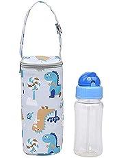 Winnfy Insulated Baby Bottle Bags Breastmilk Baby Cooler Bag Baby Bottle Holder Travel Bag Hanging Thermal Bag Portable Breastmilk Storage for Baby Drinking Bottle