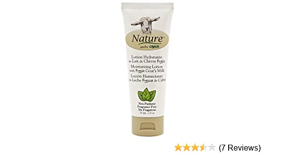 Amazon.com : Nature by Canus, Fresh Goats Milk Moisturizing Lotion, Fragrance-Free : Beauty