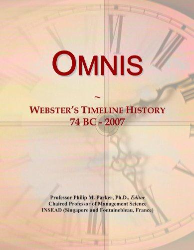 Omnis  Websters Timeline History  74 Bc   2007
