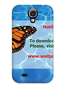 For Galaxy S4 Tpu Phone Case Cover(blue Hawaiian Water)