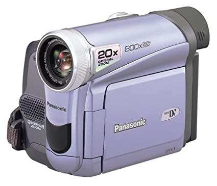 amazon com panasonic pv gs9 minidv camcorder w 20x optical zoom rh amazon com DVD Camcorder panasonic pv-gs35 manual